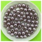 6 мм. 50 гр. Серый цвет. Цветные бусинки № 13.   050