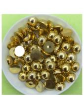 № 8. Золото хамелеон цвет. Бусинки клеевые 150 шт. № 10