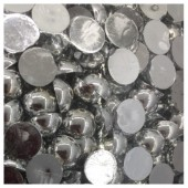 № 8. Серебро хамелеон цвет. Бусинки клеевые 3500 шт. № 11