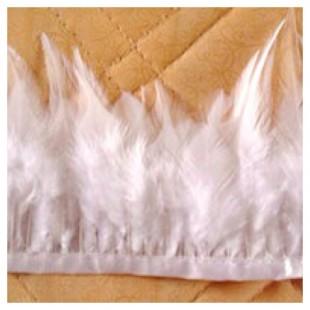 1 м. Тесьма из перьев 6-11 см