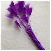 20 шт. Фиолетовый цвет. Цыпленок.  Кисточка 10-15 см