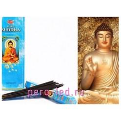 BUDDHA. НЕМ Ароматические палочки 6 граней 20 гр