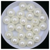 № 8. Молочный цвет. Жемчужные бусинки. Пришивные 50 гр