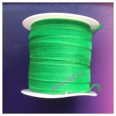 2 м. Зеленый цвет. Лента капроновая цветная 1 см