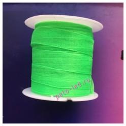 2 м. Светло-зеленый цвет. Лента капроновая цветная 1 см