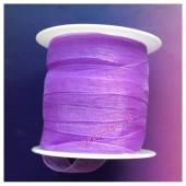 2 м. Фиолетовый цвет. Лента капроновая цветная 1 см