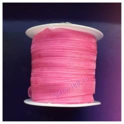 2 м. Розовый цвет. Лента капроновая цветная 1 см