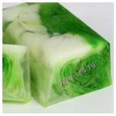 100 гр. Зеленый чай и стебель бамбука. Мыло ручной работы