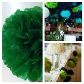 1 шт. Нефрит цвет. Бумажные цветы. Пионы. Объем цветка 15 см