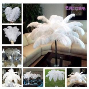 Перья птиц страуса 65-70 см