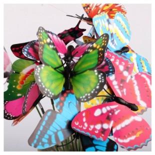 Бабочки на палочке 6 см.
