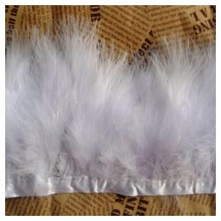Тесьма из перьев боа. Ширина 5-7 см.