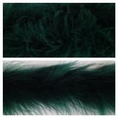 Нефрит цвет. Боа тесьма из перьев марабу 6-8 см