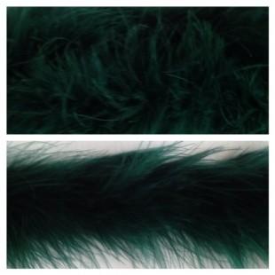 Боа тесьма из перьев марабу