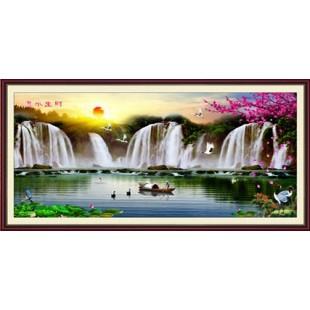 5D Картина из страз. Водопад