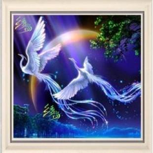 "5D Картина из страз. ""Райская птица"""