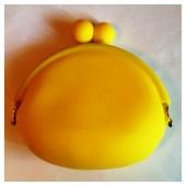 1 шт. Желтый цвет. Цветные кошелечки.