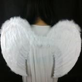 1 шт. Белый цвет. Крылья ангела. 80х55 см