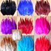 804. Перья петуха. Цветное 10-15 см