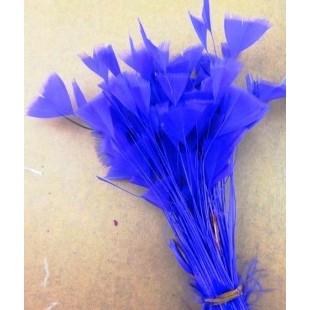 20 шт. Синий цвет. Кисточка 10-15 см Цыпленок