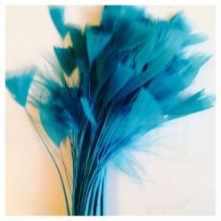 20 шт. Голубой цвет. Кисточка 10-15 см Цыпленок