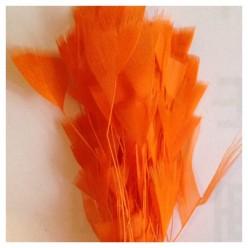 20 шт. Оранжевый цвет. Цыпленок.  Кисточка 10-15 см