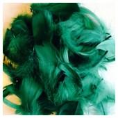 20 шт. Нефрит цвет.  Гусиное перо 4-6 см. Плавающее