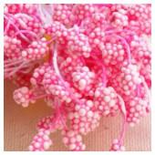 04. 50 шт. Розовый цвет. Тычинки на ниточке для цветов