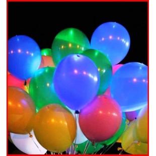 10 шт. Шарики воздушные Цветные Пастель. Ассорти