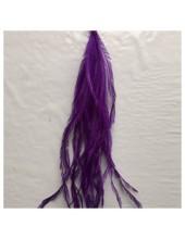 20 шт. Фиолетовый цвет. Перо страуса шелк 10-15 см