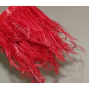 Тесьма из перьев американского петуха 8-12 см.