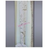 2 шт. Белый цвет. Свеча классическая в коробочке . 2 см х 2 см х 25 см