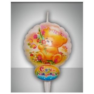 Свечи С днем рождения №9