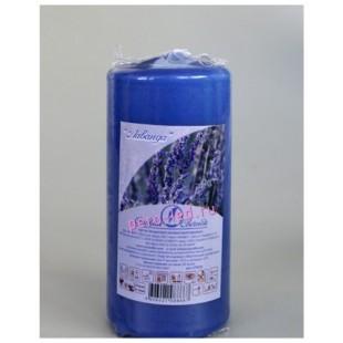 Свеча ароматическая пеньковая.Лаванда. 90 мм х 40 мм
