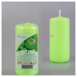 Свеча ароматическая пеньковая. Яблоко. 115 мм х 50 мм