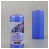 Лаванда. Свеча ароматическая пеньковая. 115 мм х 50 мм