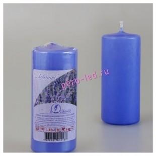 Свеча ароматическая пеньковая. Лаванда. 115 мм х 50 мм